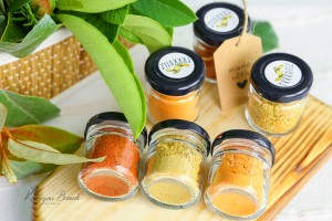 Set of 3 condiments