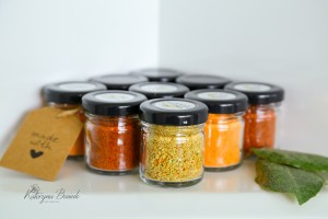Set of 5 condiments