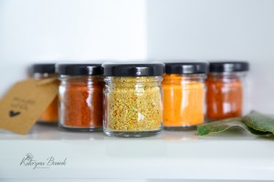 Set of 7 condiments