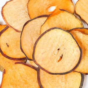 Premium dehydrated peach slices for cocktails